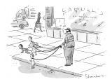 Ira's Discount Day Care' - New Yorker Cartoon Premium Giclee Print by Danny Shanahan