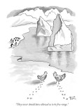 """They never should have allowed us to be free-range."" - New Yorker Cartoon Premium Giclee Print by Benita Epstein"