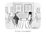 """It's not you—it's my anaphylaxis."" - New Yorker Cartoon Premium Giclee Print by C. Covert Darbyshire"