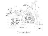 """I love your grandparents."" - New Yorker Cartoon Premium Giclee Print by Michael Maslin"