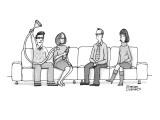 """Funnel?"" - New Yorker Cartoon Premium Giclee Print by Steve Duenes"