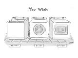 """You Wish"" - New Yorker Cartoon Premium Giclee Print by Kim Warp"