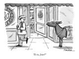 """Et tu, Juan?"" - New Yorker Cartoon Premium Giclee Print by C. Covert Darbyshire"