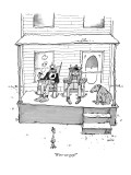 """Were we gay?"" - New Yorker Cartoon Premium Giclee Print by George Booth"