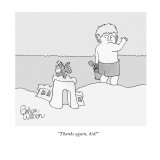 """Thanks again, kid!"" - New Yorker Cartoon Premium Giclee Print by Gahan Wilson"