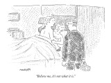 """""""Believe me, it's not what it is."""" - New Yorker Cartoon Premium Giclee Print by Robert Mankoff"""