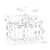 The Museum of Preschool Art. - New Yorker Cartoon Premium Giclee Print by Michael Maslin