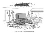 """O. K.—so we'll call it beef Rachmaninoff. - New Yorker Cartoon Premium Giclee Print by Tom Cheney"