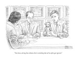 """You know, during these debates there's something that all too often gets …"" - New Yorker Cartoon Premium Giclee Print by Paul Noth"