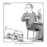 """Save some for Mommy, Princess."" - New Yorker Cartoon Premium Giclee Print by Harry Bliss"