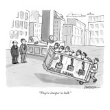 """They're cheaper in bulk."" - New Yorker Cartoon Premium Giclee Print by C. Covert Darbyshire"