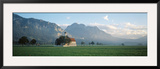 St. Coloman's Church, Bavaria, Germany Framed Photographic Print by  Panoramic Images