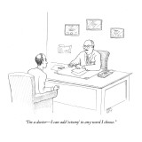 """I'm a doctor—I can add 'ectomy' to any word I choose."" - New Yorker Cartoon Premium Giclee Print by Paul Noth"