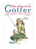 The American Golfer June 13, 1925 Premium Giclee Print by James Montgomery Flagg