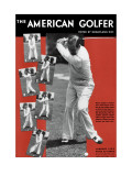 The American Golfer January 1933 Premium Giclee Print by Unknown Unknown
