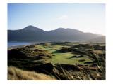 Royal County Down Golf Club, Hole 3 Premium Photographic Print by Stephen Szurlej
