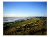 Pacific Dunes Golf Course, Hole 4 Premium Photographic Print by Stephen Szurlej