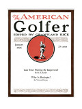 The American Golfer January 1926 Regular Giclee Print by Unknown Unknown