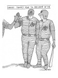 Sorry Yanks - New Yorker Cartoon Premium Giclee Print by Michael Crawford