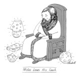 Midas loses his touch. - New Yorker Cartoon Premium Giclee Print by Marshall Hopkins