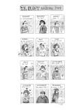 T.S. Eliot calendar - New Yorker Cartoon Premium Giclee Print by Roz Chast