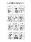 T.S. Eliot calendar - New Yorker Cartoon Premium Giclee Print by Roz Chast