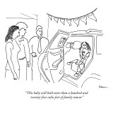 """This baby will hold more than a hundred and twenty-five cubic feet of fam…"" - New Yorker Cartoon Premium Giclee Print by Michael Shaw"