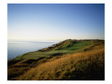 Whistling Straits Golf Club, Hole 13, coastline Premium Photographic Print by Stephen Szurlej