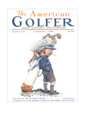 The American Golfer December 2, 1922 Regular Giclee Print by James Montgomery Flagg