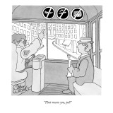 """That means you, pal!"" - New Yorker Cartoon Premium Giclee Print by Gahan Wilson"