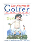 The American Golfer April 4, 1925 Premium Giclee Print by James Montgomery Flagg