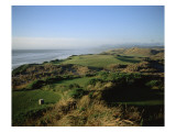 Bandon Dunes Golf Course Premium Photographic Print by Stephen Szurlej