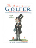 The American Golfer June 2, 1923 Premium Giclee Print by James Montgomery Flagg