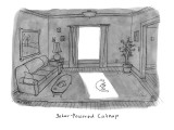 Solar Powered Cat Nap. - New Yorker Cartoon Premium Giclee Print by Jason Patterson