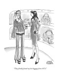 """They finally found my lost luggage from 1972."" - New Yorker Cartoon Premium Giclee Print by Marisa Acocella Marchetto"