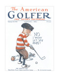 The American Golfer February 24, 1923 Premium Giclee Print by James Montgomery Flagg