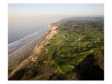 Torrey Pine Municpal G. Cse., South Course, aerial Premium Photographic Print by Stephen Szurlej