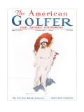 The American Golfer June 16, 1923 Premium Giclee Print by James Montgomery Flagg