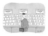 condolences - New Yorker Cartoon Premium Giclee Print by Peter C. Vey