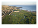 Carnoustie Golf Links, The infamous Barry burn Premium Photographic Print by Stephen Szurlej