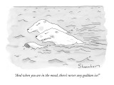 """And when you are in the mood, there's never any goddam ice!"" - New Yorker Cartoon Premium Giclee Print by Danny Shanahan"