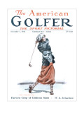 The American Golfer December 1, 1923 Premium Giclee Print by James Montgomery Flagg