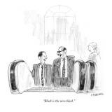 """Black is the new black."" - New Yorker Cartoon Premium Giclee Print by Pat Byrnes"