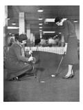 Glenna Collett and Diana Fishwick,The American Golfer March 1931 Regular Photographic Print by Unknown Unknown