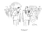 """""""No flag pin!"""" - New Yorker Cartoon Premium Giclee Print by Mike Twohy"""