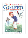 The American Golfer April 5, 1924 Premium Giclee Print by James Montgomery Flagg