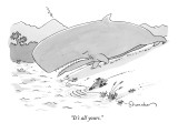 """It's all yours."" - New Yorker Cartoon Premium Giclee Print by Danny Shanahan"