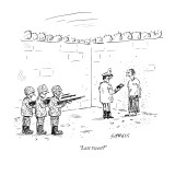 """Last tweet?"" - New Yorker Cartoon Premium Giclee Print by David Sipress"