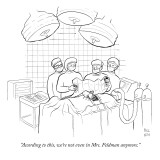 """According to this, we're not even in Mrs. Feldman anymore."" - New Yorker Cartoon Premium Giclee Print by Paul Noth"