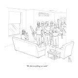 """We did everything we could."" - New Yorker Cartoon Premium Giclee Print by Paul Noth"